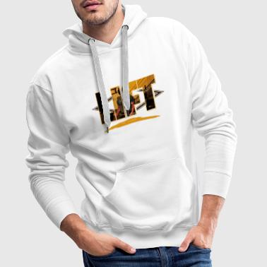 Gym Fitness Motivation Dites Gains Levage Sport - Sweat-shirt à capuche Premium pour hommes