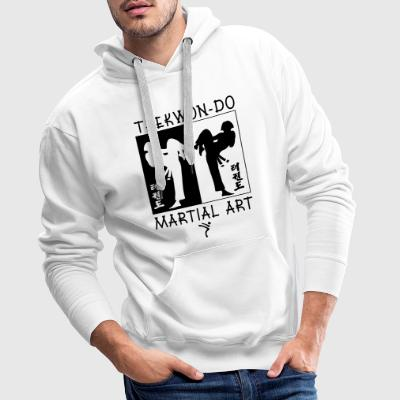Taekwondo Martial Art for Girls - Men's Premium Hoodie