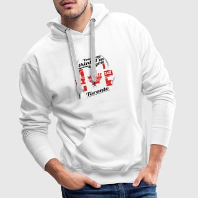HOLIDAY HOME ROOTS TRAVEL Canada Canada Toronto - Men's Premium Hoodie