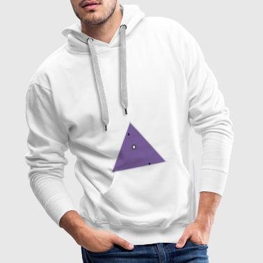 hope triangle - Sweat-shirt à capuche Premium pour hommes