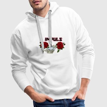 IMPULSE red - Men's Premium Hoodie