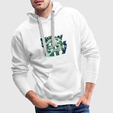 New York City 1 - Sweat-shirt à capuche Premium pour hommes