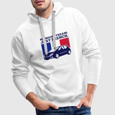 NO MAINSTREAM JUST FRENCH - Männer Premium Hoodie