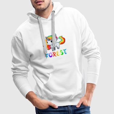 Unicorn forest - Men's Premium Hoodie