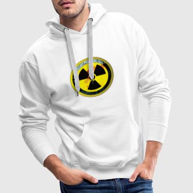 Attention, une conception radioactive - Sweat-shirt à capuche Premium pour hommes