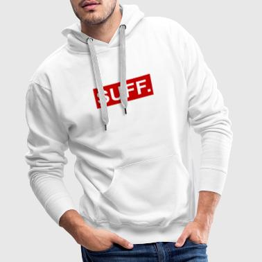 cool SUFF red-white - Men's Premium Hoodie