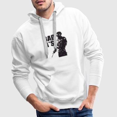 The comptroller works the accounthold career - Men's Premium Hoodie