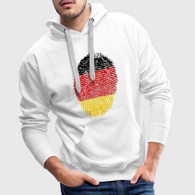 GERMANIA 4 EVER COLLECTION - Felpa con cappuccio premium da uomo