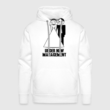 under new management 1c - Men's Premium Hoodie