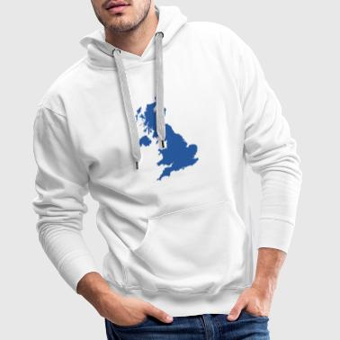 UK MAP - Men's Premium Hoodie