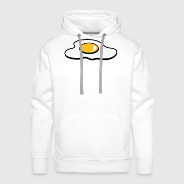 A fried egg - Men's Premium Hoodie