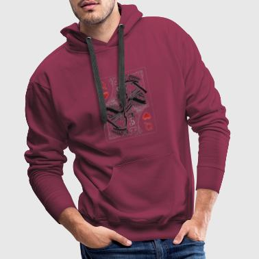 Queen Of Hearts Queen of Hearts - Men's Premium Hoodie