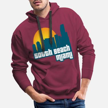 Gratteciel South Beach Miami [GTA:VC] - Sweat à capuche premium Homme