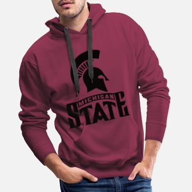 Michigan Michigan State - Männer Premium Hoodie
