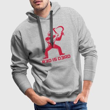 Red is Dead - Sweat-shirt à capuche Premium pour hommes