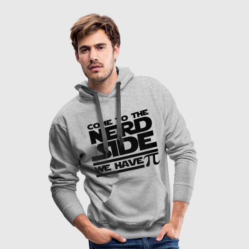 Come to the Nerd Side - Exclusive Edition - Männer Premium Hoodie