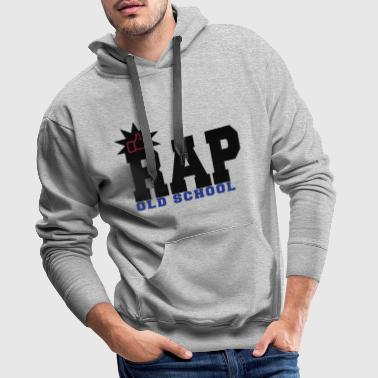 Rap Old School rap old school - Sweat-shirt à capuche Premium pour hommes