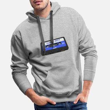 Audio Music Tape - TOP 10 Mix - Audio Tape - Men's Premium Hoodie
