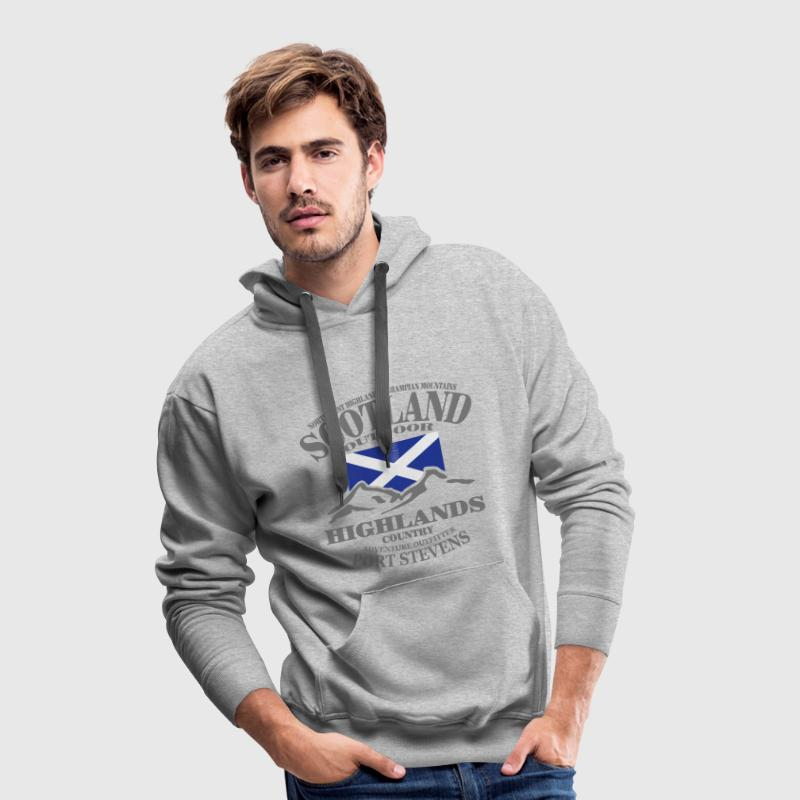 Scotland - Highlands - Men's Premium Hoodie