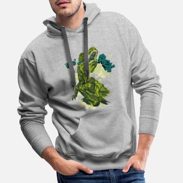 Animal Planet Animal Planet T-Rex - Men's Premium Hoodie