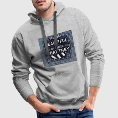 Encourage Encourage - Men's Premium Hoodie