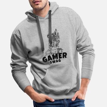 Gamer Gaming T-Shirt The perfect gift idea. - Men's Premium Hoodie