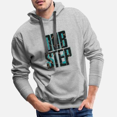 Dubstep lettrage Dubstep 3D 007 - Sweat à capuche premium Homme
