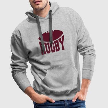 Rugby Rugby - Sweat-shirt à capuche Premium pour hommes