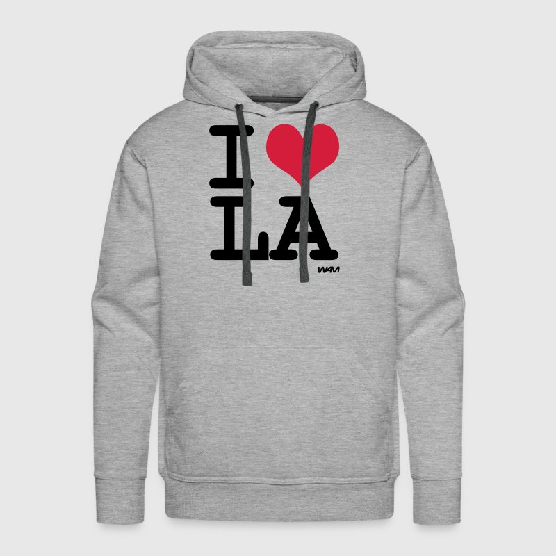 I LOVE LA - los angeles by wam - Men's Premium Hoodie