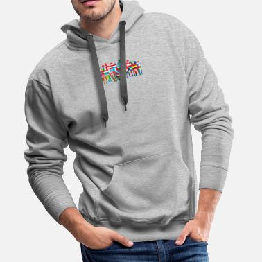 Community World Community - Mannen premium hoodie
