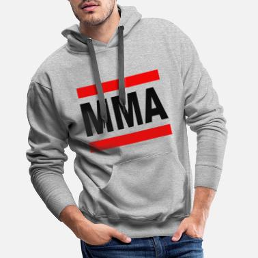 Mixed Martial Arts MMA - Mixed Martial Arts - Premium bluza męska z kapturem