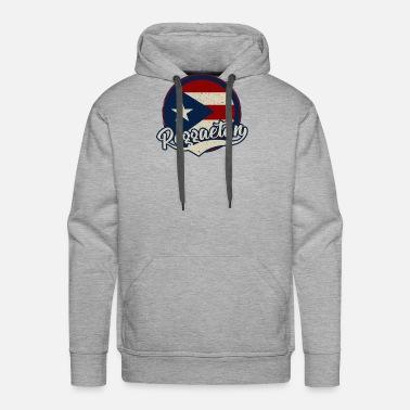 Música Reggaeton - Puerto Rico Camiseta premium hombre  e4a21699e7b