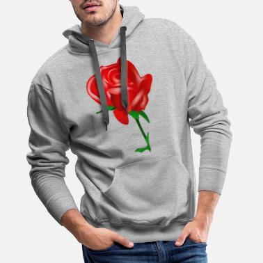 rose - Sweat à capuche premium Homme