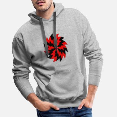 Abstract Unlock The Cage - Men's Premium Hoodie