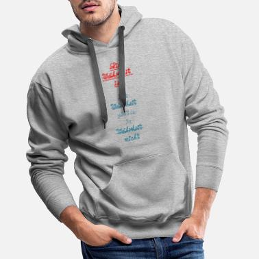 Truth The truth is truth is in truth ... - Men's Premium Hoodie