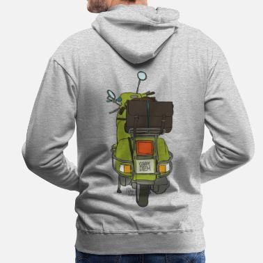 Bikes And Cars Collection V2 2 wheels - Men's Premium Hoodie