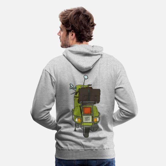 Collection Hoodies & Sweatshirts - 2 wheels - Men's Premium Hoodie heather grey