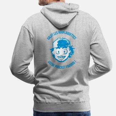Hi the rouflaquettes - Men's Premium Hoodie