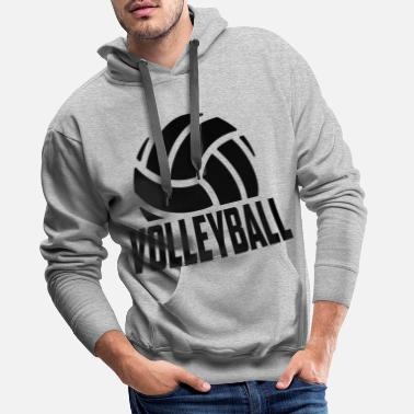 Volley volley-ball - Sweat à capuche premium Homme