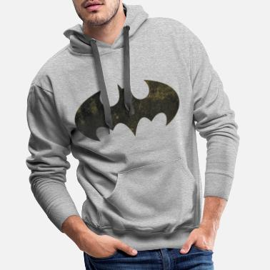 Officialbrands Justice League Batman Logo - Sweat à capuche premium Homme