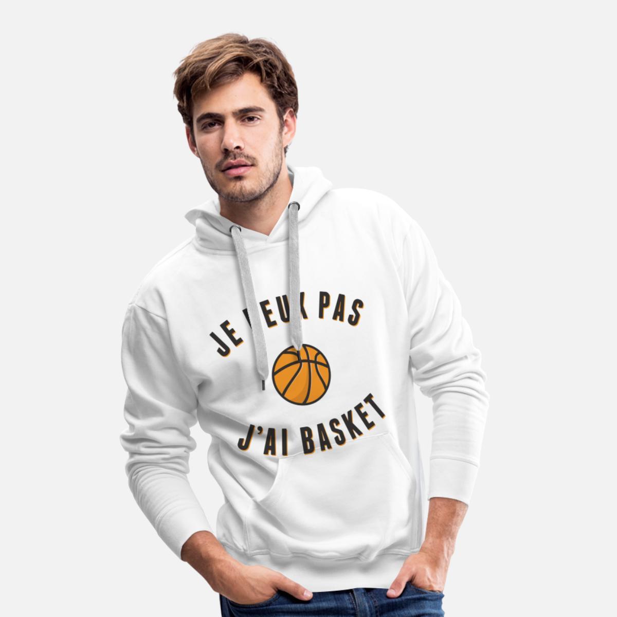 Je Peux Pas JAi Basket Sweat-Shirt /à Capuche Premium pour Hommes
