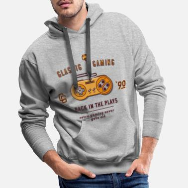 Gaming Collection V2 classic gaming - Sweat à capuche premium Homme