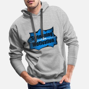 Baywatch Schwimming Motivation, Schwimmen motivation, Heart - Männer Premium Hoodie