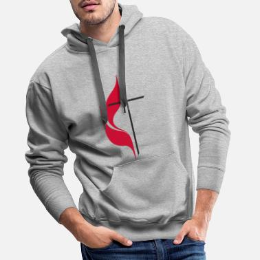 Methodist Cross United Methodist Cross Church - Men's Premium Hoodie