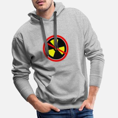 Castor Transport Anti nuclear power Nuclear power stations Nuclear energy Atomic energy - Men's Premium Hoodie