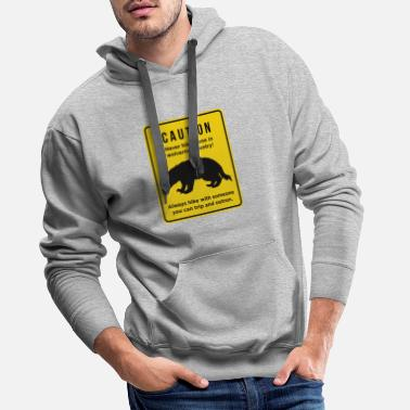 Gear Funny Don't Hike Alone in Michigan Wolverine - Men's Premium Hoodie