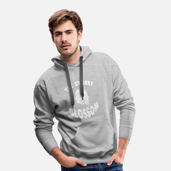 Native American Hoodies & Sweatshirts - The Swanky Blossom Gift - Men's Premium Hoodie heather grey