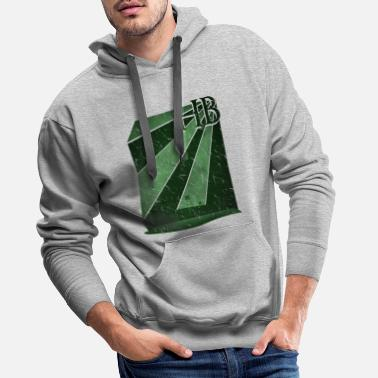 Stadium Bremen football stadium Weser Stadium - Men's Premium Hoodie