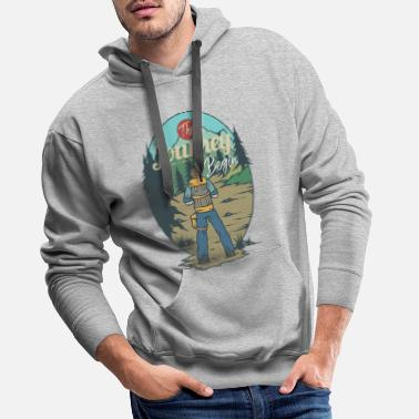 Journey The journey starts - Men's Premium Hoodie