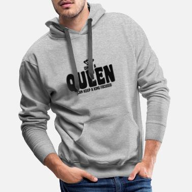 Engagement Queen King - Men's Premium Hoodie